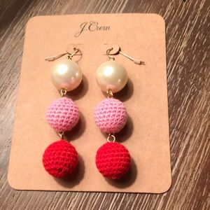 NWT J Crew Statement Earrings